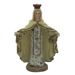 Imagem de Nossa Senhora das Mercês em Resina de 7,8cm