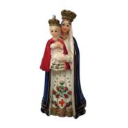 Imagem de Nossa Senhora do Bom Parto em Resina de 7,6cm