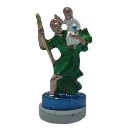 Imagem de São Cristovão em Metal de 4,5cm com imã
