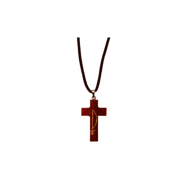 Cruz com a inscrição PX com Cordão