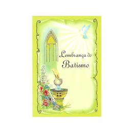 Lembrança do Batismo - Santinho