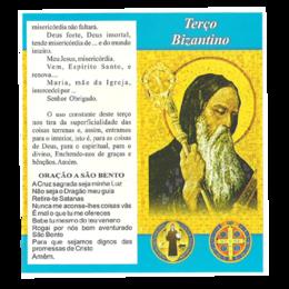 Folheto do Terço Bizantino