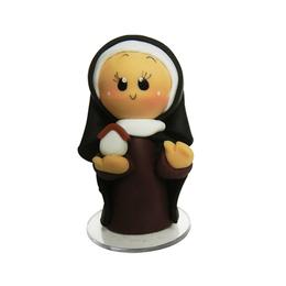 Imagem de Santa Edwiges em Biscuit de 7cm
