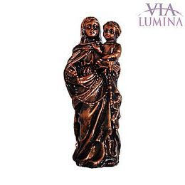 Nossa Senhora do Rosário - Resina - 7cm