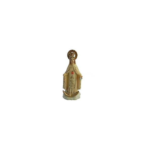 Imagem de Nossa Senhora das Mercês em Resina de 10cm