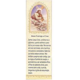 Marca Página Jesus Carrega a Cruz