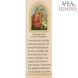 Marca Página da Consagração a Nossa Senhora