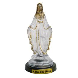 Nossa Senhora das Graças - Plástica - 12cm