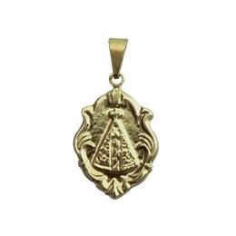 Medalha Nossa Senhora Aparecida - Tipo Ornato - 2,2cm  - Embalada