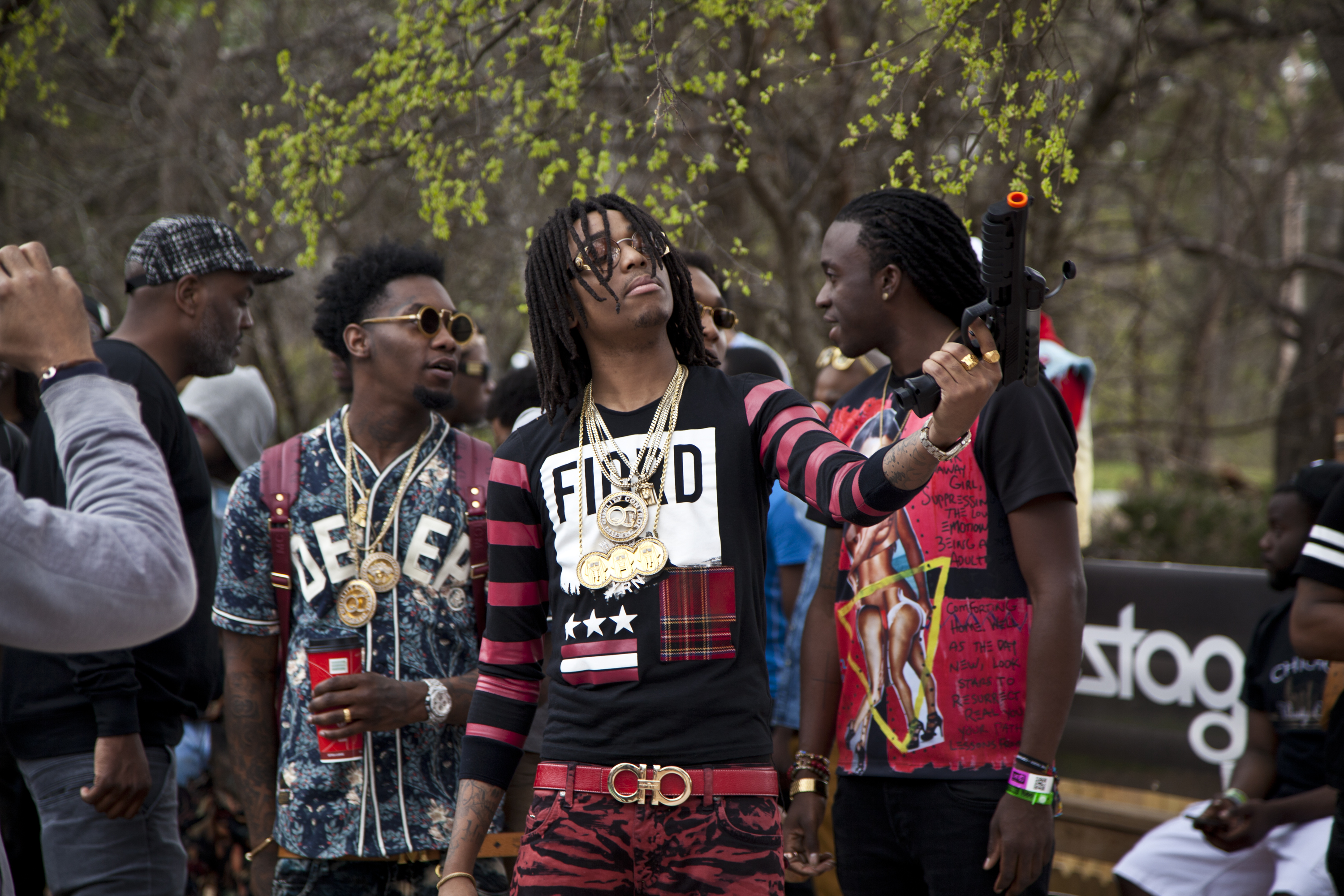 cf0555f35 We Went to a Weird Pool Party with Soulja Boy and Migos - VICE