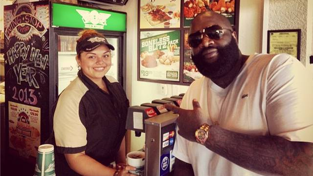 A Brief History of Rick Ross's Lamest Wingstop Moments - VICE