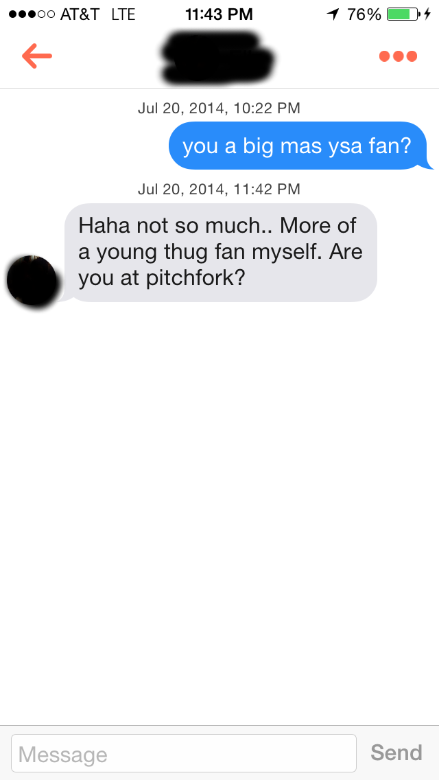 Things to say on tinder