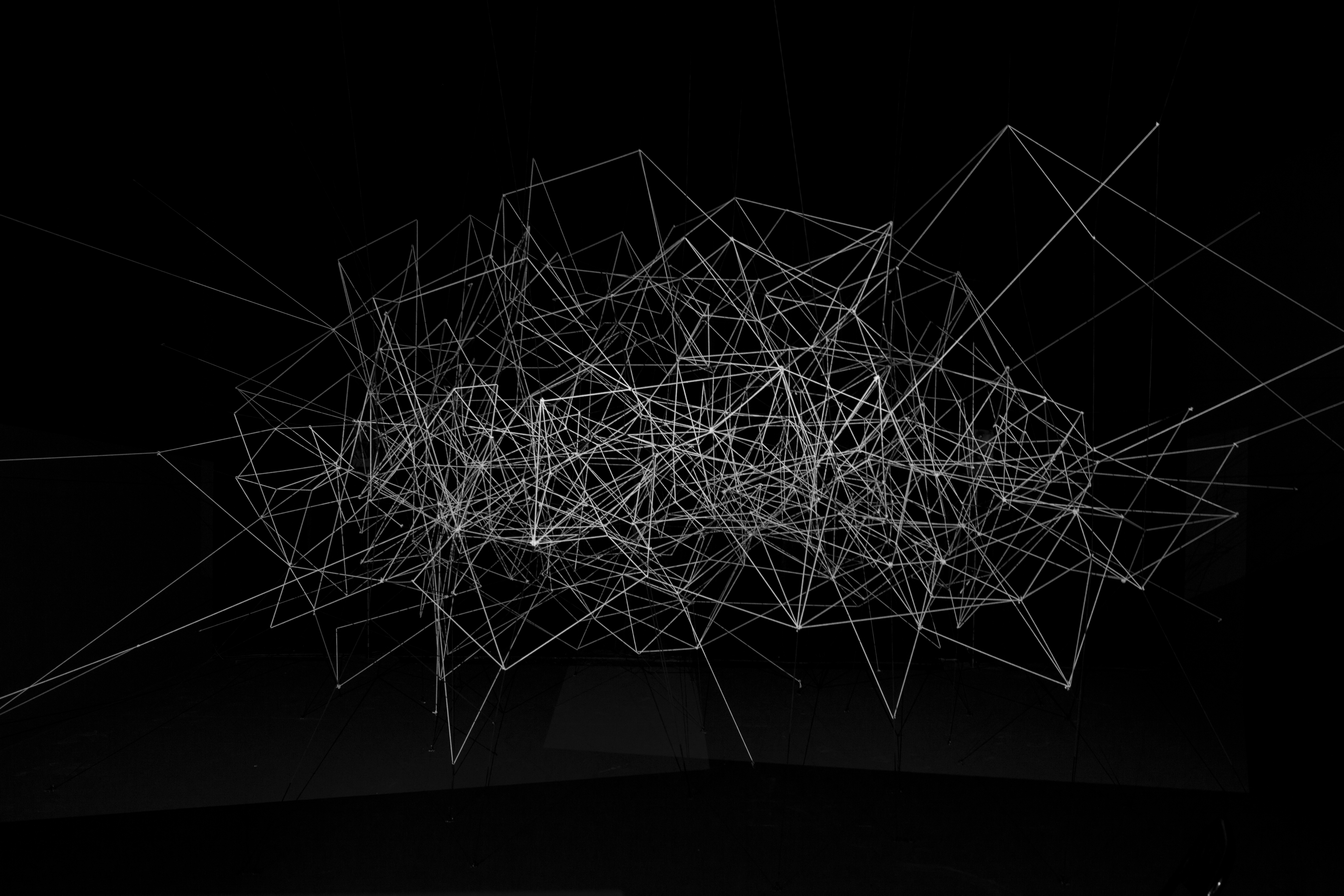 New Installation Creates Star Nurseries With Code and Geometric ...