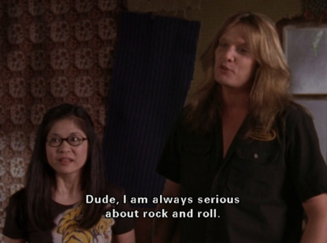 Gil, Gilmore Girls, Hep Alien, Sebastian Bach, Keiko Agena, Lane Kim, rock and roll, drama, comedy, television, Amy Sherman-Palladino