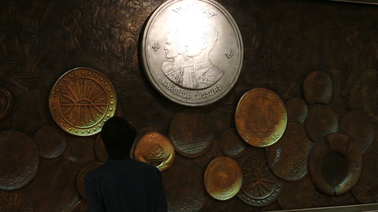 Giant Projected Coins Tell the Stories Behind Thai Currency - VICE