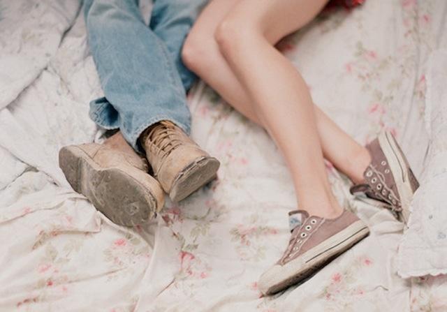 Секс с девочкой в туфлях