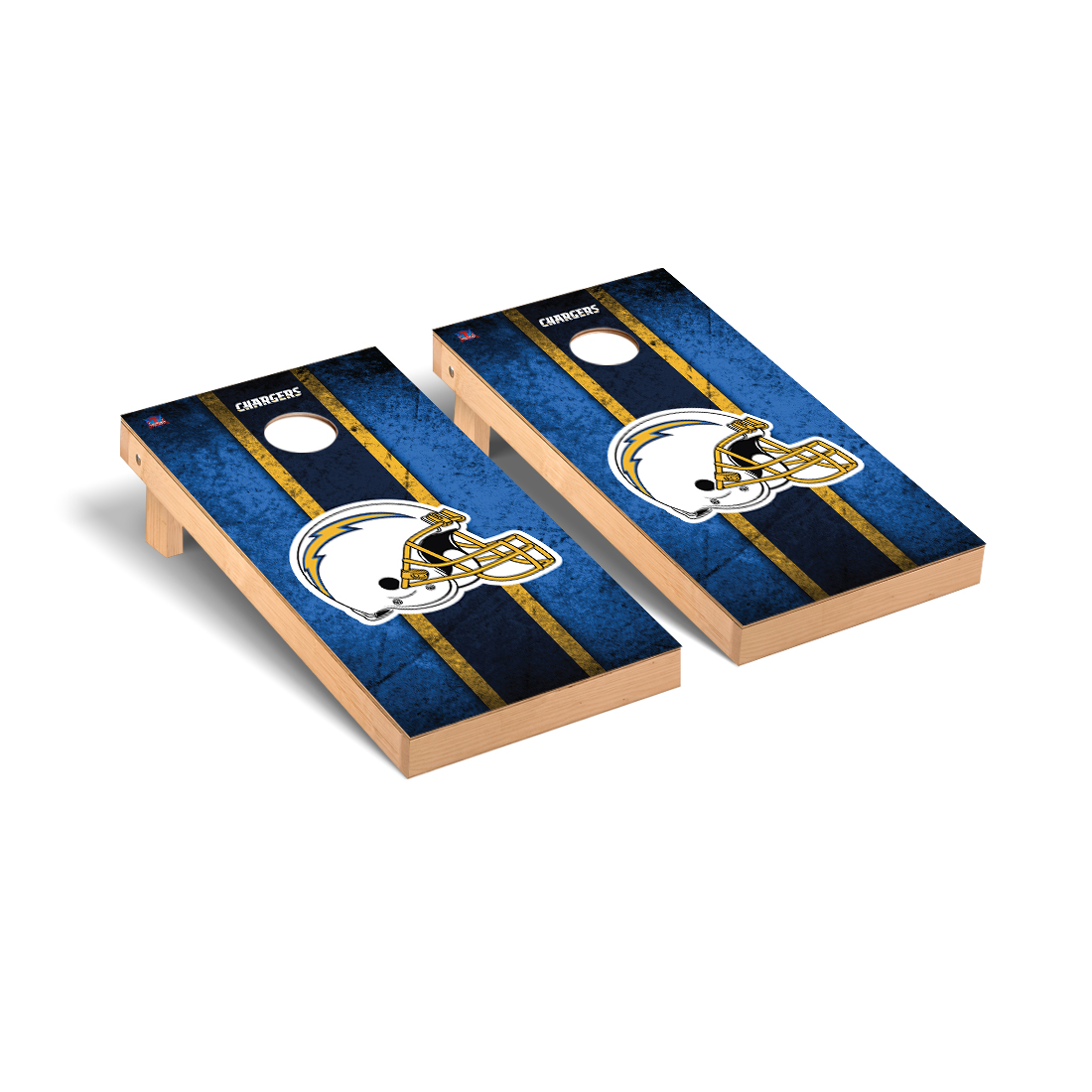 Los Angeles Chargers NFL Football Cornhole Game Set Vintage Version