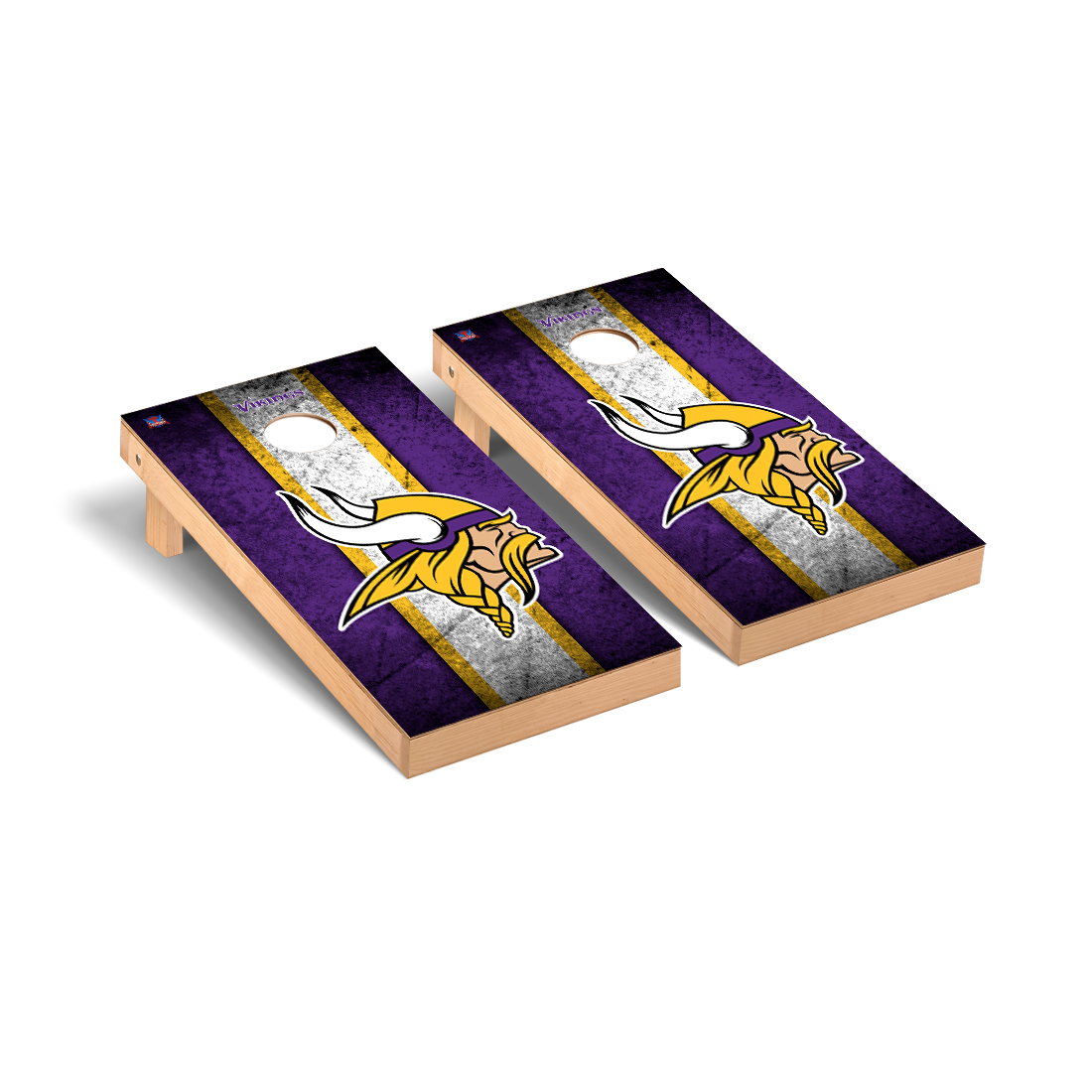 Minnesota Vikings NFL Football Cornhole Game Set Vintage Version 2