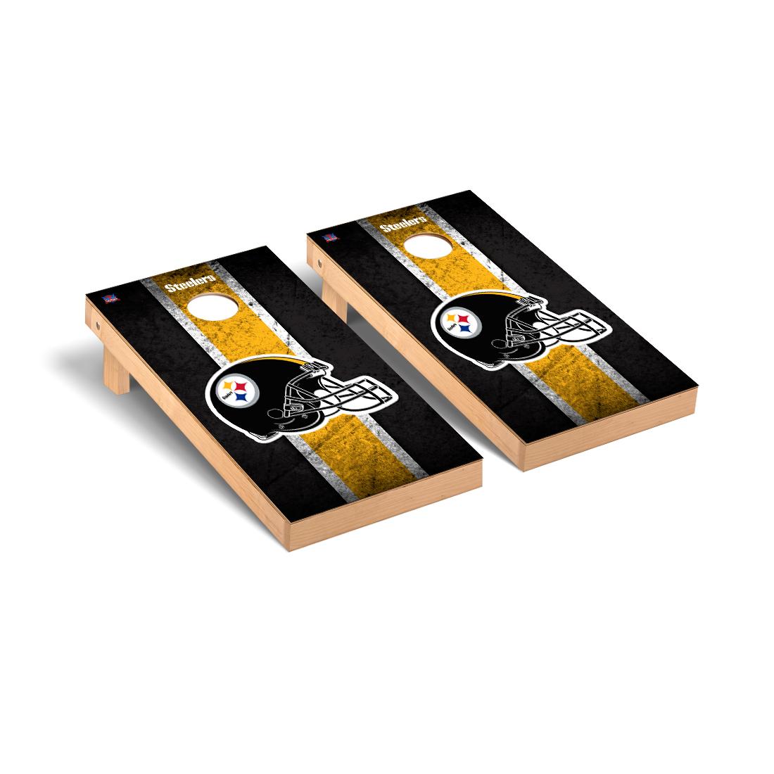Pittsburgh Steelers NFL Football Cornhole Game Set Vintage Version