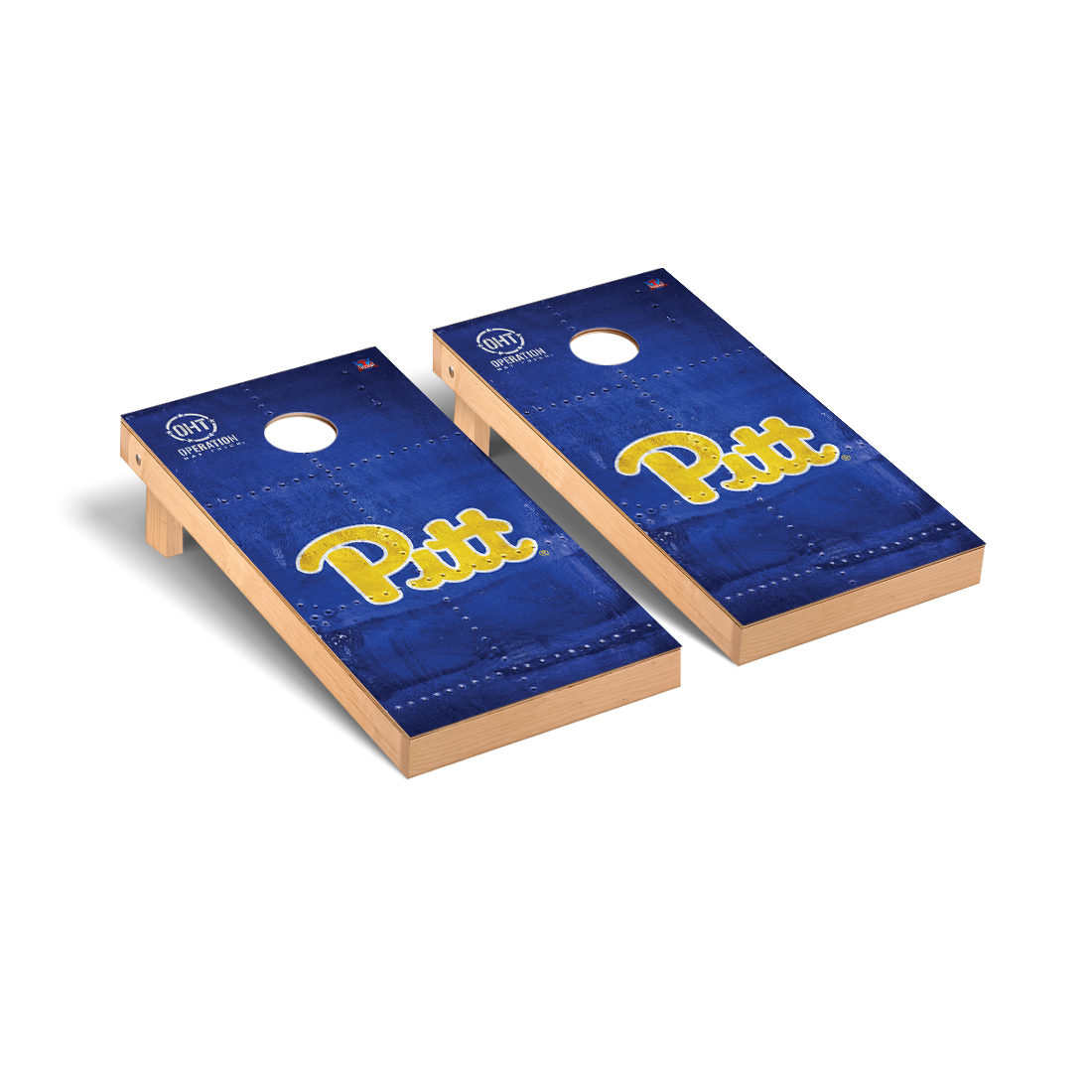 Pittsburgh Panthers  Cornhole Game Set OHT Rivet Version