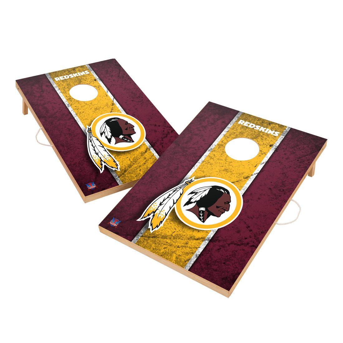 Vintage Washington Redskins NFL VT - Solid Wood 2x3 Cornhole