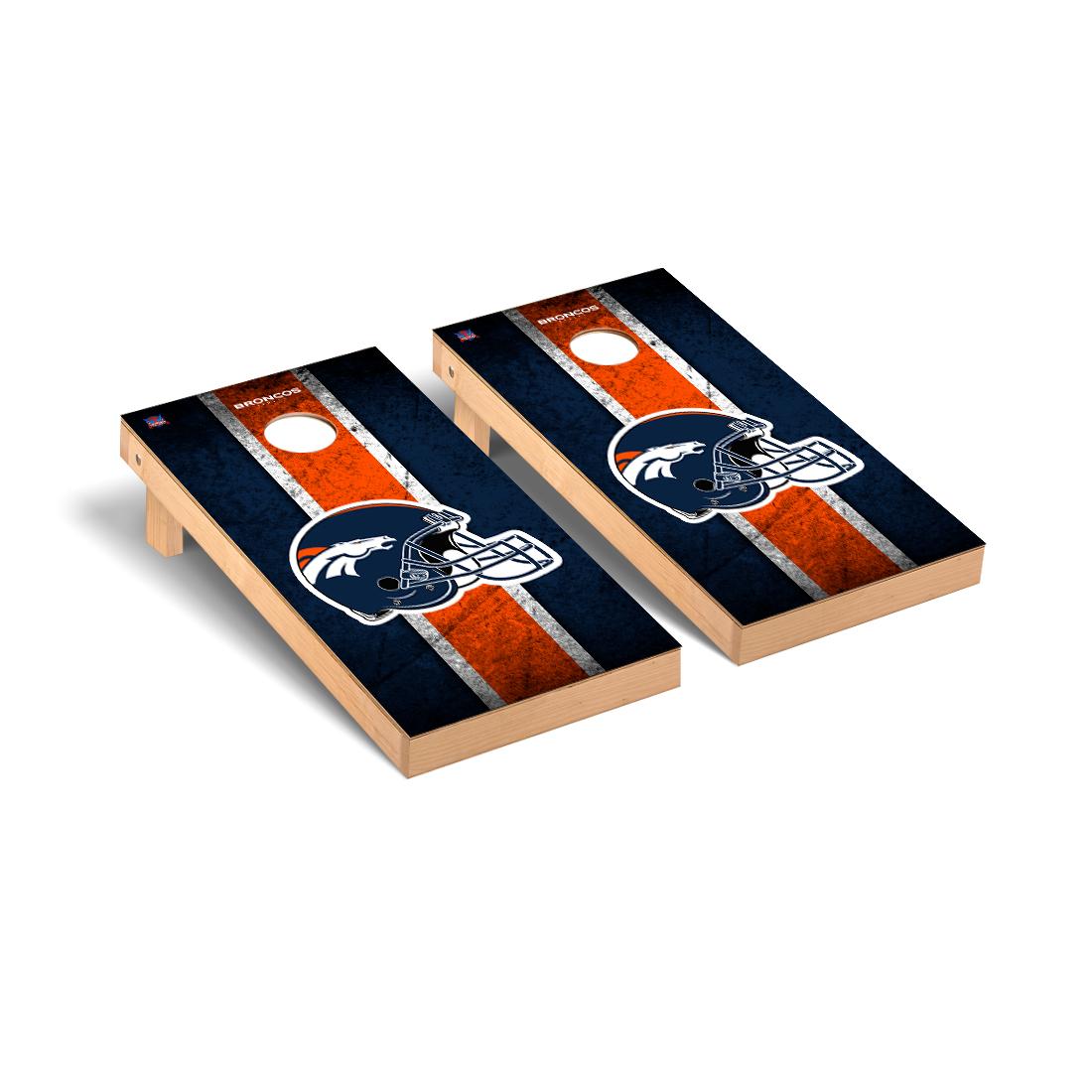 Denver Broncos NFL Football Cornhole Game Set Vintage Version