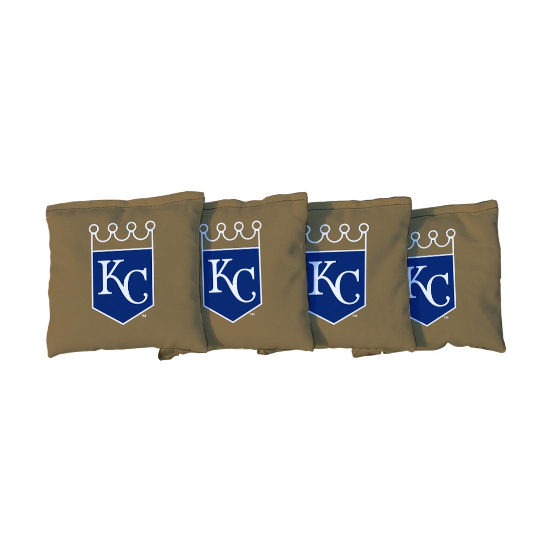 4 Kansas City Royals Light Blue Cornhole Bags