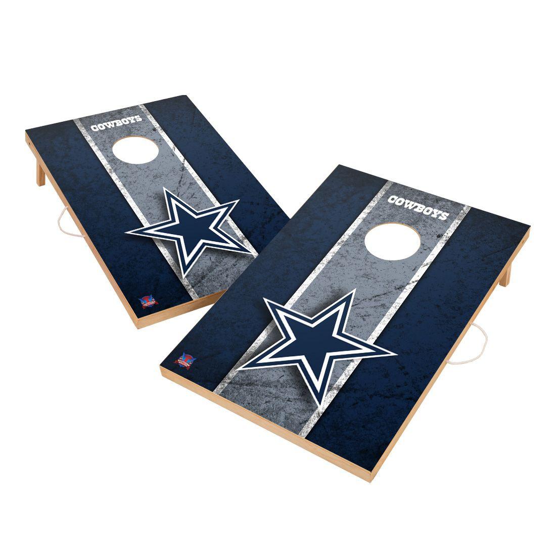 Vintage Dallas Cowboys NFL VT - Solid Wood 2x3 Cornhole