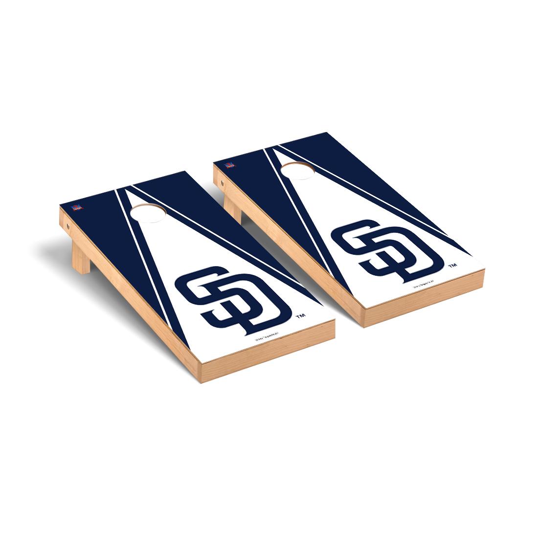 San Diego Padres MLB Baseball Cornhole Game Set Triangle Version