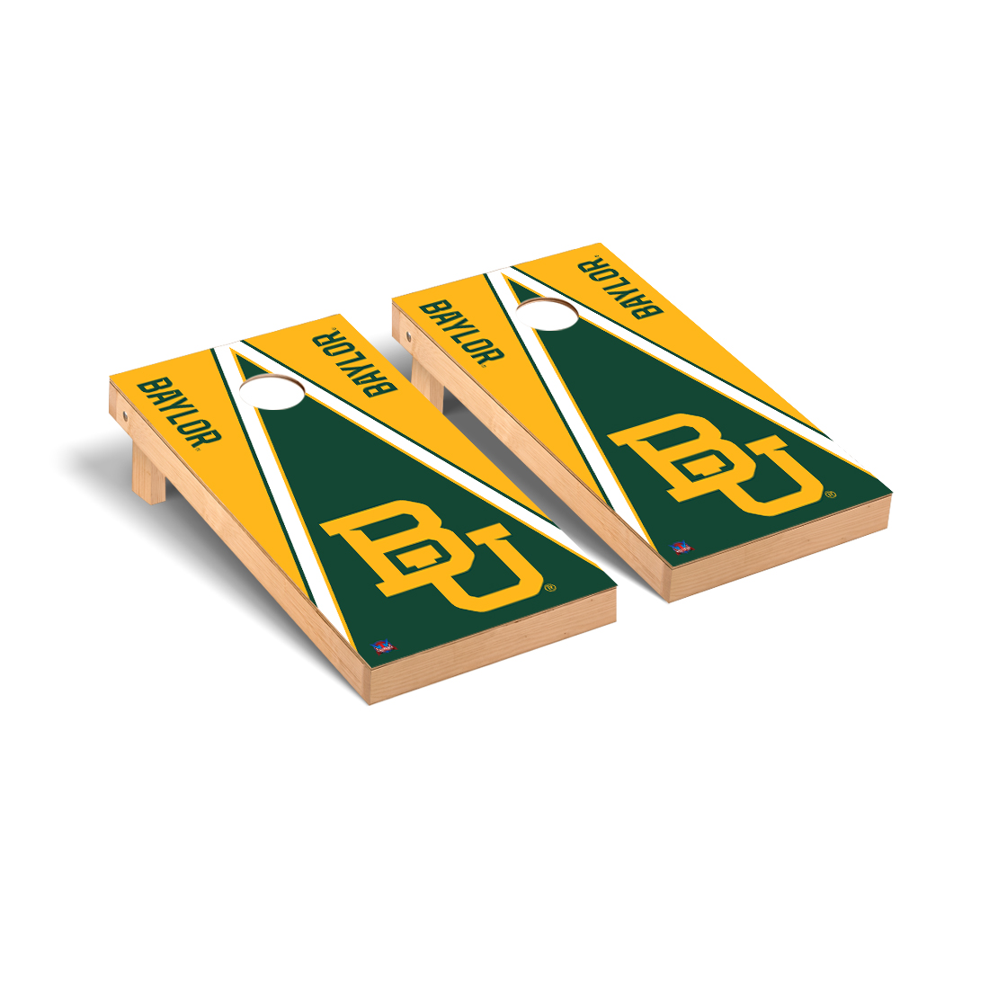 Baylor Bears Cornhole Game Set Triangle Version