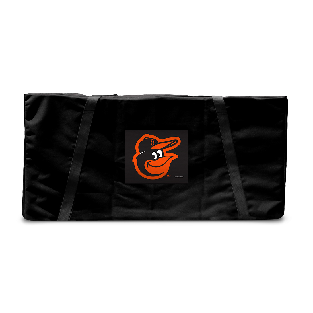 Baltimore Orioles MLB Baseball Tailgate Cornhole Storage Carrying Case