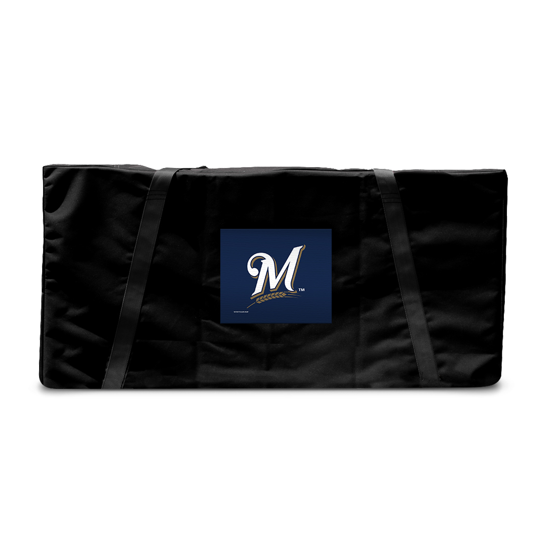 Milwaukee Brewers MLB Baseball Tailgate Cornhole Storage Carrying Case