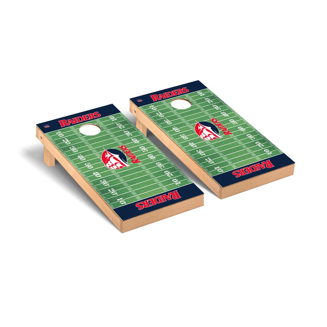 Shippensburg Red Raiders Cornhole Game Set Football Version