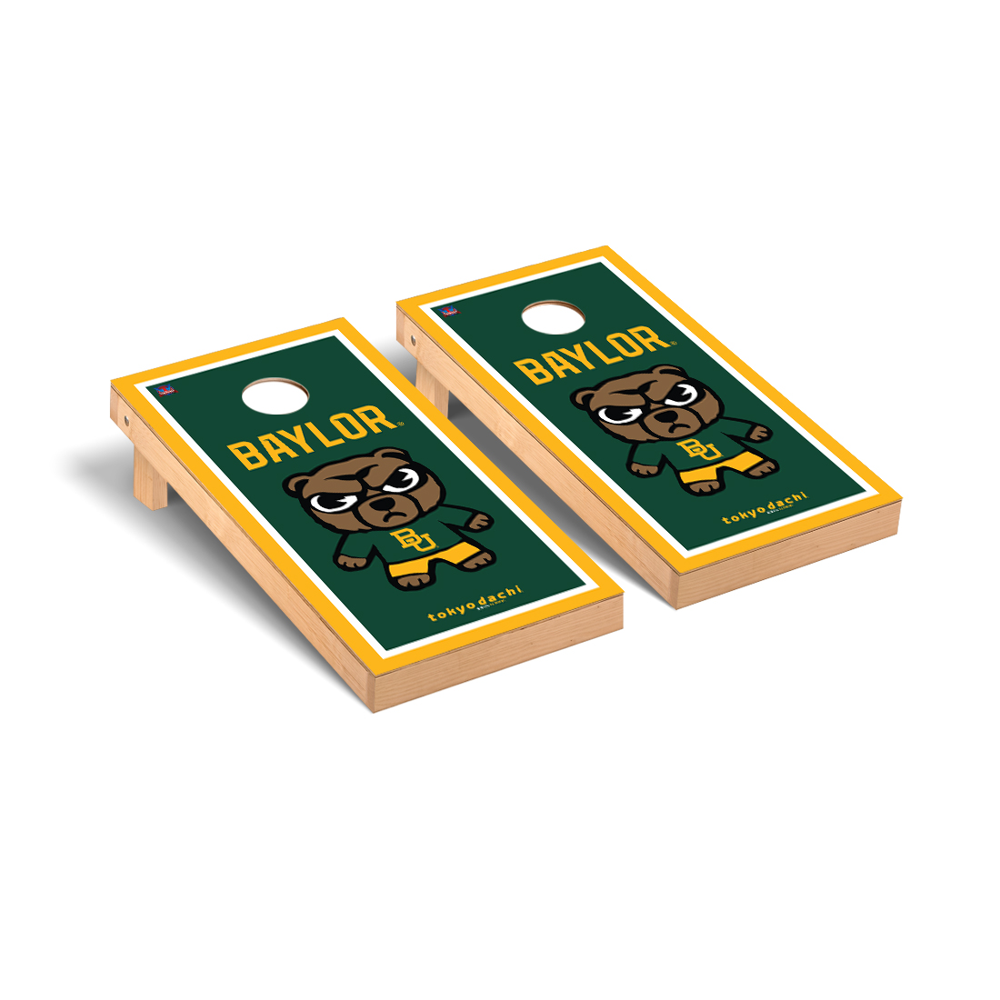 Baylor University Bears Tokyodachi Design Cornhole Game Set