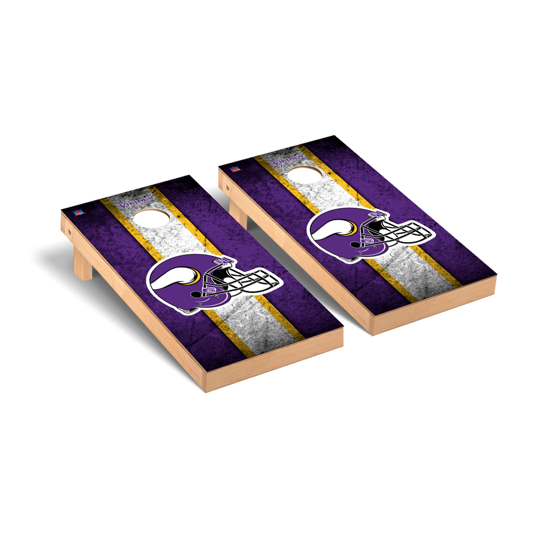 Minnesota Vikings NFL Football Cornhole Game Set Vintage Version