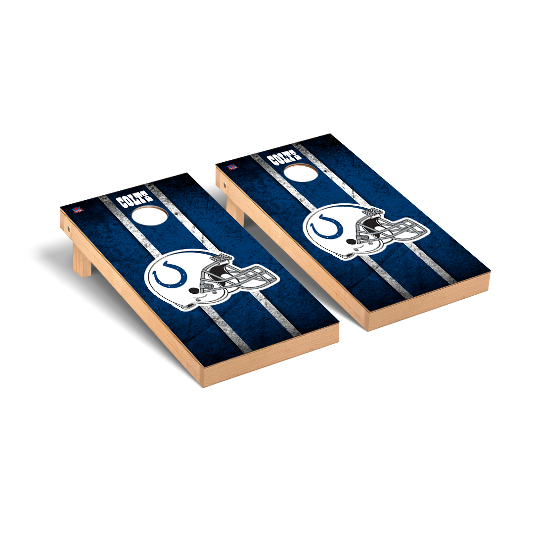 Indianapolis Colts NFL Football Cornhole Game Set Vintage Version