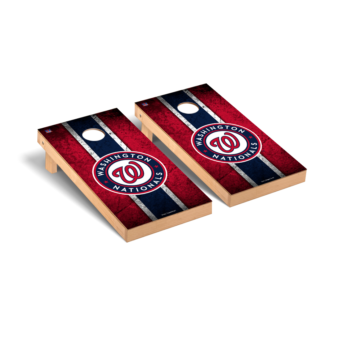 Washington Nationals MLB Baseball Cornhole Game Set Vintage Version