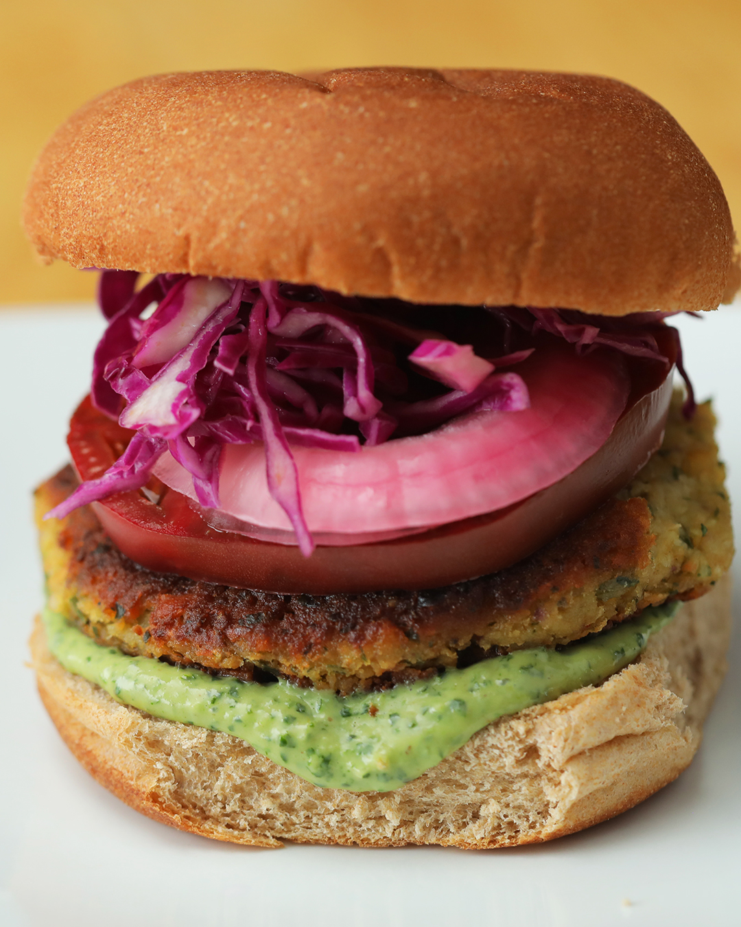 Top Chef Junior Falafel Burger