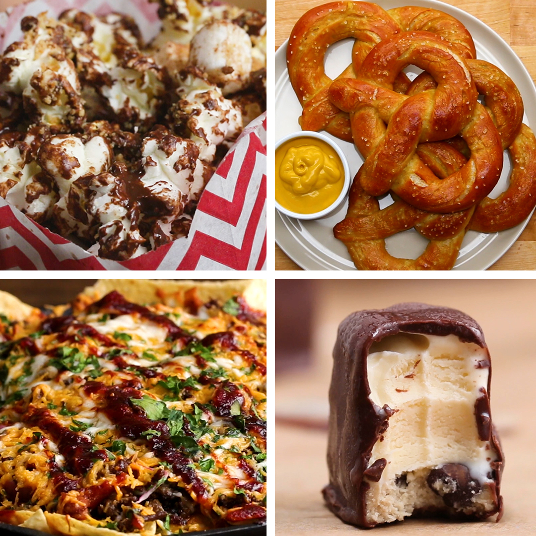 Movie Night Snacks Recipes