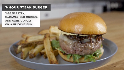 3-Hour Burger Recipe by Tasty