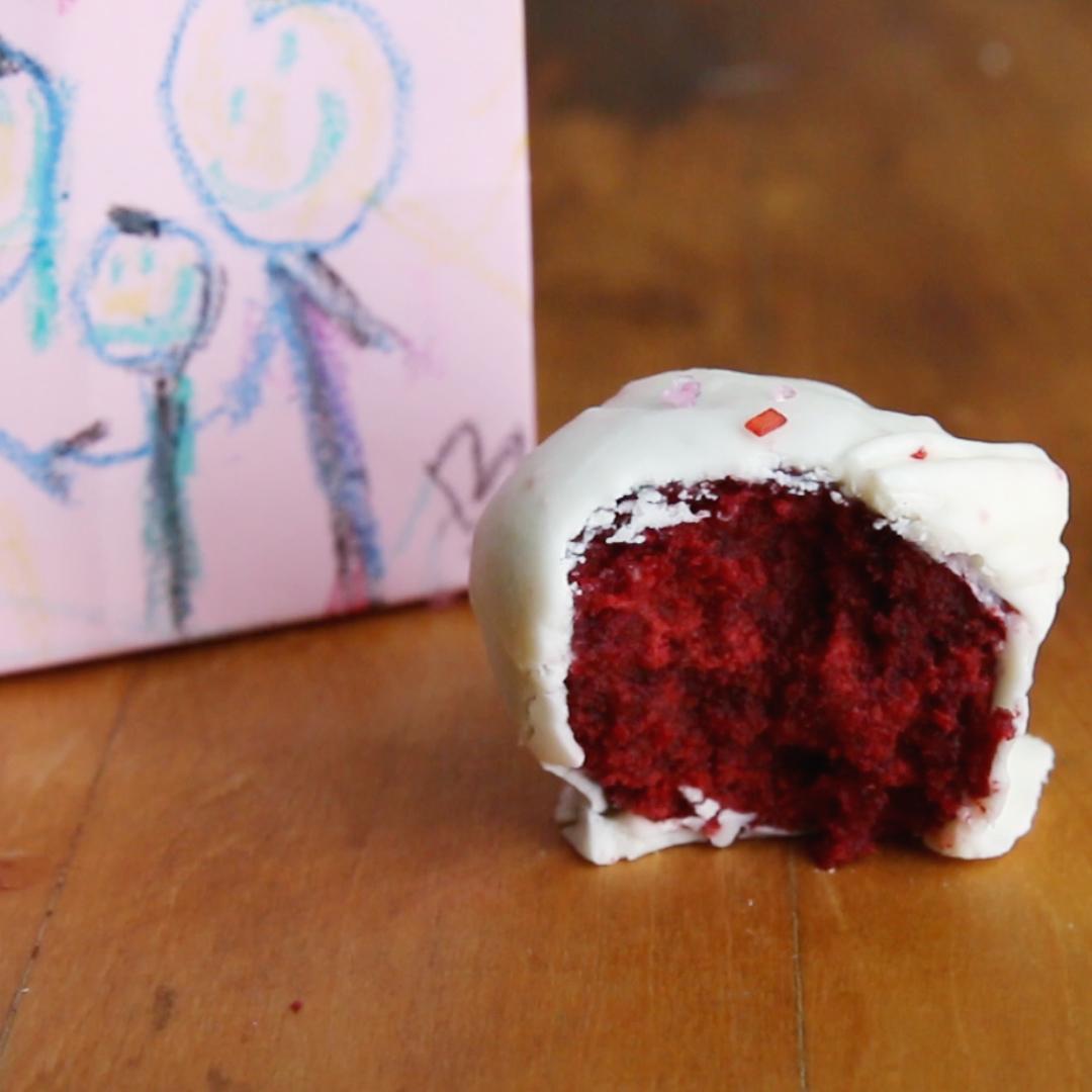 Valentine's Day Red Velvet Truffles