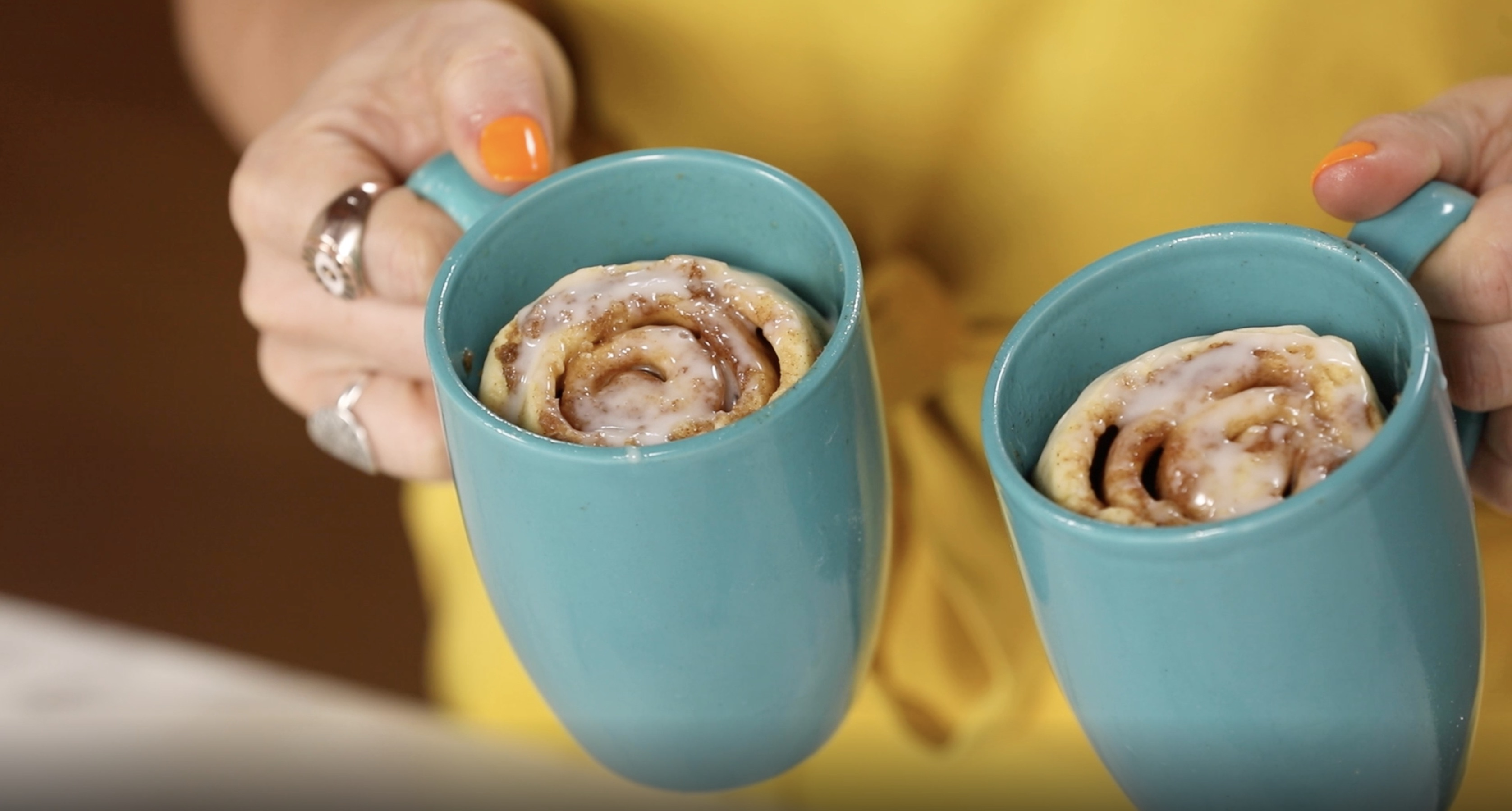 4 Minute Mug Cinnamon Rolls Recipe By Tasty