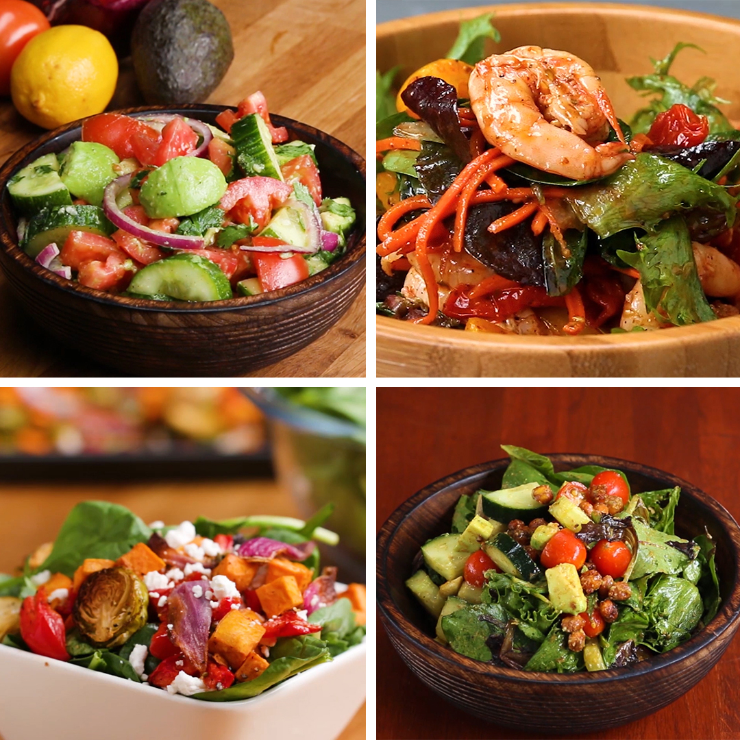 Satisfying Salads That Don T Suck Recipes
