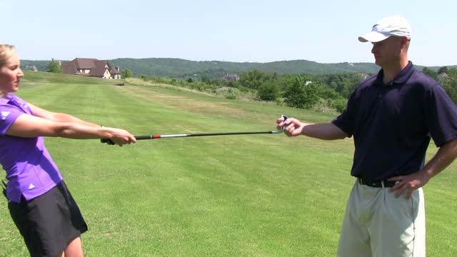 left handed golf instruction videos