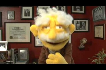 You Have To Watch This OUTSTANDING Puppet Performance By Professor Nans Von