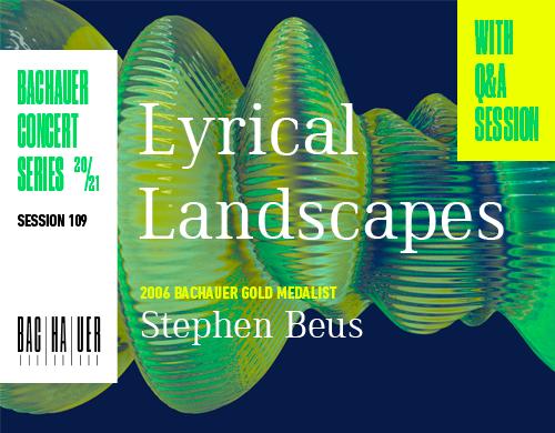 Lyrical Landscapes (March 4 at 7:30 pm MST)
