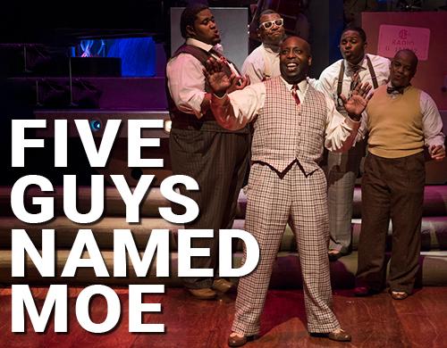 Five Guys Named Moe (Regular ticket - 1 viewer)