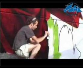 Graffiti fresque - Bowa et Sper