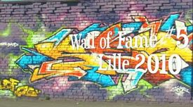Wall of Fame Lille