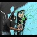 Papermonster street art